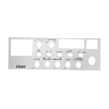 99 CHROME - Twinpoint Chrome Face Plate for DX99V Radio