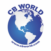 CBWS - CB World Logo Decal