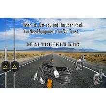 DUALTRUCKER - Dual Trucker CB Antenna Kit