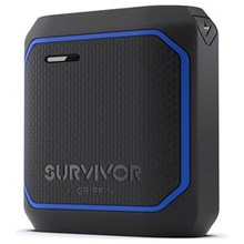 Griffin Survivor Rugged Power Bank Battery, 10,050 mAh - 3 Color Options