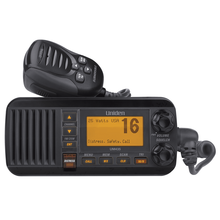 UM385BK -Uniden 25 Watt Fixed Mount Marine Radio with DSC (Black)