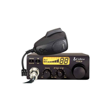 C19DXIV-T - Cobra® 40 Channel Compact CB Radio (Peaked and Tuned)