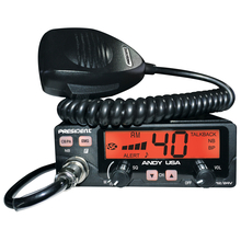 ANDY-T - President Dual Voltage CB Radio