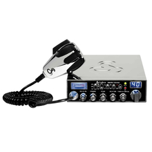 C29LTDSEC-T - Cobra® CB Radio With Chrome Finish (Peaked and Tuned)
