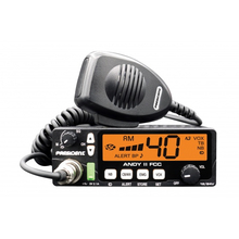 ANDYII-T - President 12-24 VDC CB Radio with 7 Color Display