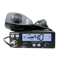 ADAMS-T - President 40 Channel CB Radio with Talkback and Color Display Options (Peaked and Tuned)