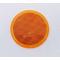 """049475ADOT - 3"""" Round Amber Reflector Stick-On"""