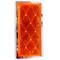 049484A - Sate-Lite Rectangular Stick On Amber Reflector
