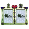 12560138 - Heart Embellished Dual Window Boyfriend - Girlfriend Photo Frame