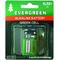 EB9V - Evergreen 9 Volt Alkaline Battery In Display Package