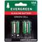 EBAAA - Evergreen 4 Pack AAA Cell Alkaline Battery