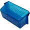 049BP10715B - Blue Mini Rectangular Lens Carded