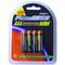 "XP4AAA 4 Pack ""AAA"" Nickle Metal Hydride Rechargeable Batteries"