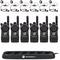 CLS1410KIT - Motorola UHF Radio Kit with 6 Radios, Charging Station, Headsets