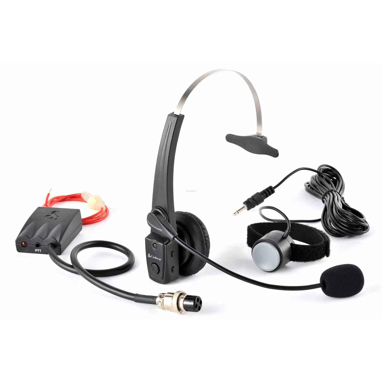 Cabtcb4 Cobra Hands Free Bluetooth Wireless Cb Headset