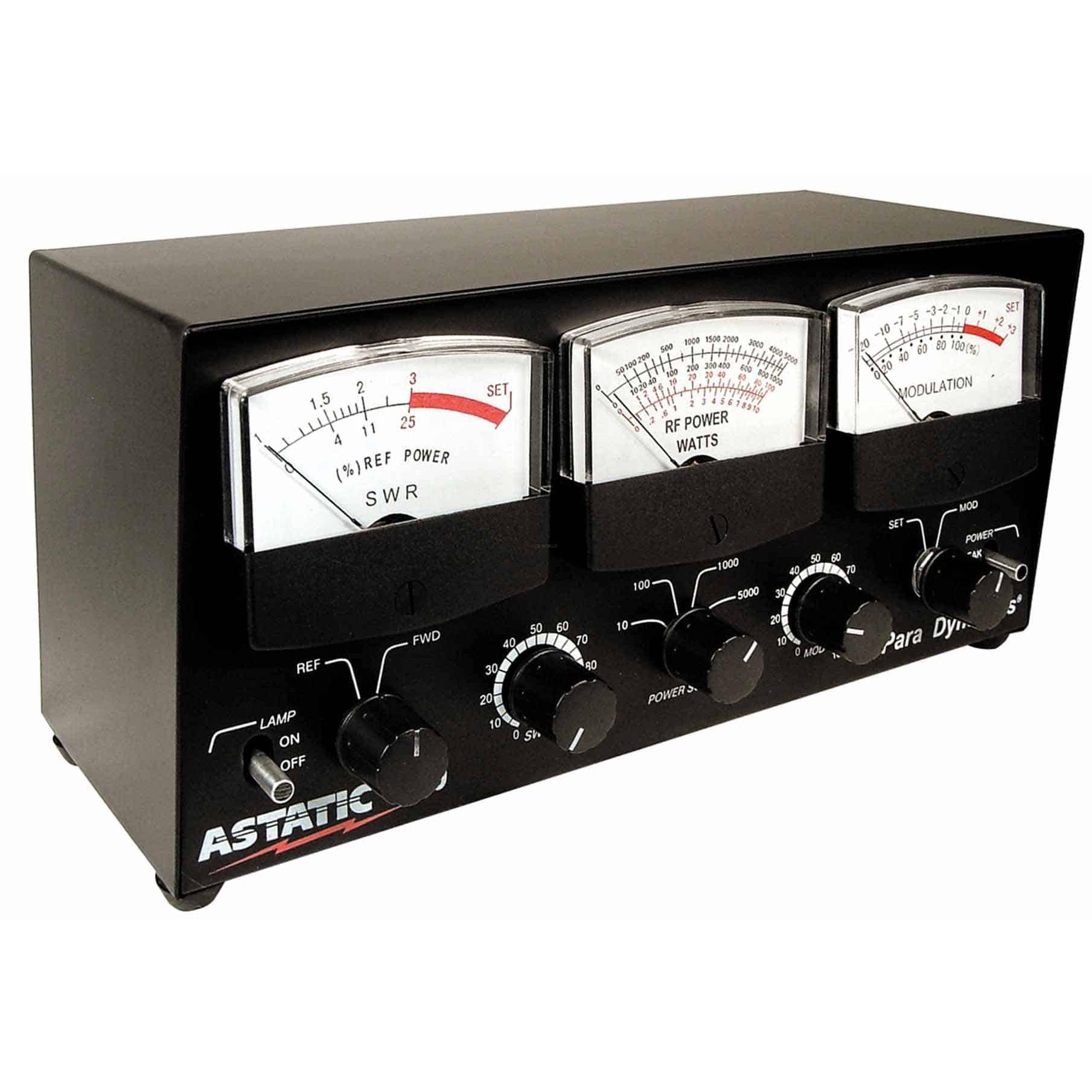 Watt Meter Price List: Astatic SWR Power And Modulation Meter