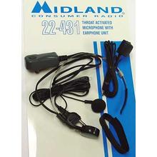 22431 - Midland Throat Microphone For 77-830 Radio