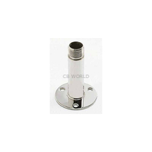"4365 - Shakespeare Straight 4"" 1X14"" Thread Stainless Antenna Mount"