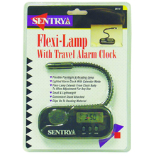 02720115 - Flexible Lamp With Travel Alarm Clock