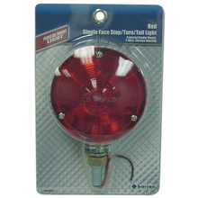 0493437112 - Red Pedestal Fender Mount Tail Light