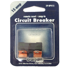 059BP415 - Remote Reset 15 Amp Circuit Breaker