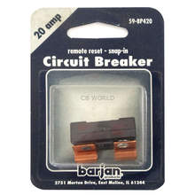 059BP420 - Remote Reset Snap-In Glass Circuit  Breaker