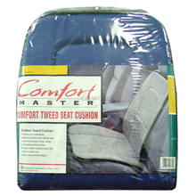 08719765 - Comfort Master Blue Padded Tweed Seat Cushion