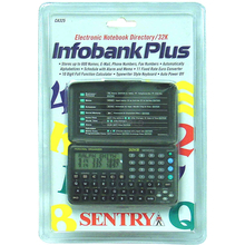 117325 - Sentry - Infobank Plus 32K Electronic Notebook