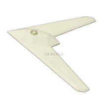 "117A-W - ProComm Amplified ""Stealth Bomber"" Mirror Mount TV Antenna Kit (White)"
