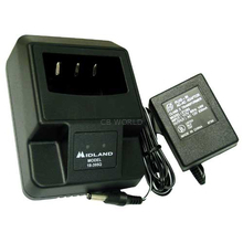 18395Q - Midland Single Port Rapid Drop In Desk Top Charger & AC Adapter