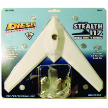 360117MW - Diesel Stealth 117 Mobile Wing TV Antenna