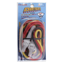 3602664 - 16 Gauge 5 Amp Fused 3 Pin Power Cord