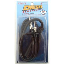 36075 - Diesel Am/Fm Scanner Y Splitter Cable For Use With Scanners