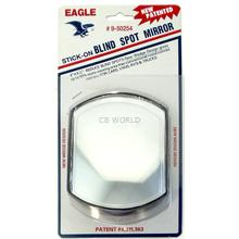 050254 - Eagle Oblong Stick-On Blind Spot Mirror