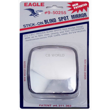 050255 - Eagle Stick-On Wedge Style Blind Spot Mirror
