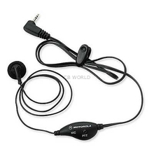53727 - Motorola Earbud w/PTT Microphone Slk/Gt Series