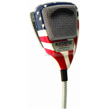 636L-FLAG - Astatic 4 Pin Microphone Stars And Stripes