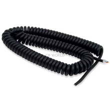 660932 - Roadking Black Coiled Replacement Cord