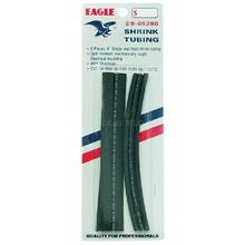 "905280 - Eagle 6 Piece 6"" Black Heat Shrink Tubing"