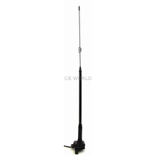 "A328 - 28"" Elevated Trunk/Lip Mount Cellular Antenna w/Mini Uhf"