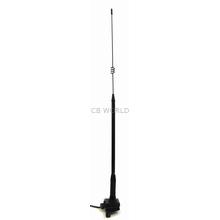 "A328 - 28"" Elevated Trunk/Lip Mount Cellular Antenna w/Mini Uhf"