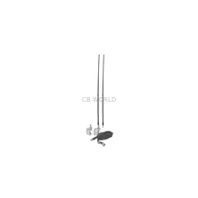 Accessories Unlimited Dual Mirror Mount CB Antenna Kit