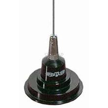 """IC100-B - Hustler 44"""" Base Load Magnet Mount Antenna Kit -Black"""