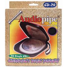 CD20-B - Audiopipe 20 Card Carrying Case ( Black )