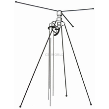 DCX - Hustler 40-950 MHz Discone Base Station Scanner Antenna