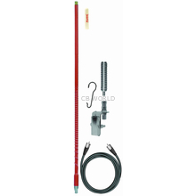 FS464A8A-R - Firestik 4' Single Mirror Mount Antenna Kit (Red)
