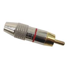 GRCA - Kalibur Gold Plated Metal Male Rca Phono Plug