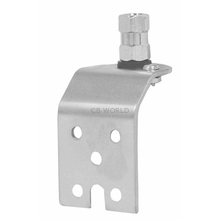 K13 - Kalibur Stainless Steel Angled Side Or Fender Antenna Mount