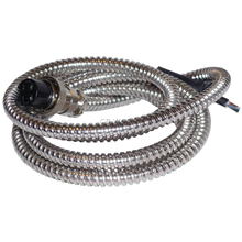 "KC4 - Twinpoint 50"" Chrome Microphone Replacement Cord"