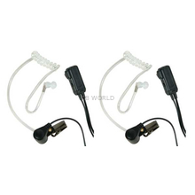 AVPH3-CL - Midland In Ear Speaker/VOX/PTT/Dual Pin Clear Tubing